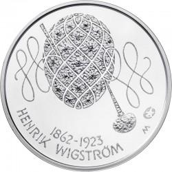 Финляндия, 10 евро (150 лет со дня рождения Генрика Вигстрема)