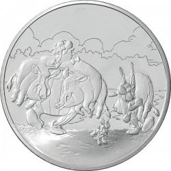 Франция 2007, 1,5 евро, возврашение с охоты
