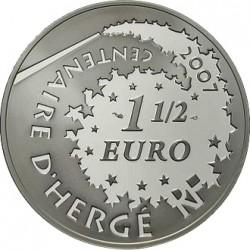 Франция 2008, 1 1/2 евро, Тинтин (Tintin)