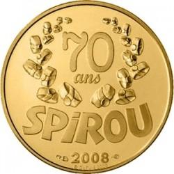 Франция 2008, 10 евро, Spirou (Спиру)