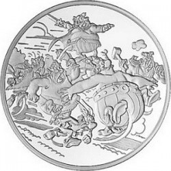 Франция 2007, 20 евро, Астерикс