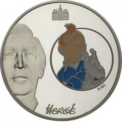 Франция 2008, 20 евро, Тинтин и Милу