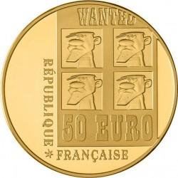Франция 2009, 10 евро, Lucky Luke («Счастливчик Люк»)