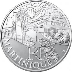 Франция, 10 евро (Мартиника)