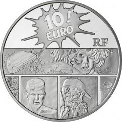 """Франция 2011, 10 евро, XIII (""""Тринадцатый"""")"""