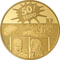"""Франция 2011, 50 евро, XIII (""""Тринадцатый"""")"""