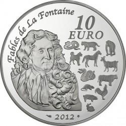 Франция, 2012 (Год дракона), 10 евро