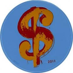 France 2011. 10 euro. Andy Warhol