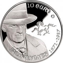 Ireland 2012, 10 euro, John Butler Yeats
