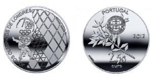 2,5 евро «Олимпийские игры в Лондоне»