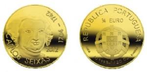 1/4 евро «Карлуш де Сейшаш»
