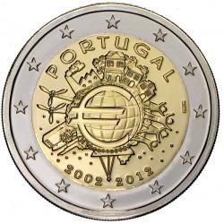 2 евро «10 лет наличному обращению евро»