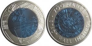 Niob münzen Österreich 2003. 25 euro