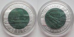 25 euro. 150 Jahre Semmeringbahn