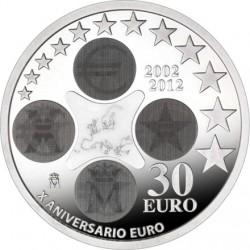 Spain 2012. 30 euro