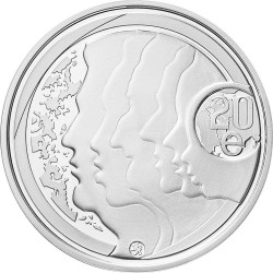 Finland/Suomi 20 euro. Equality and Tolerance 2012