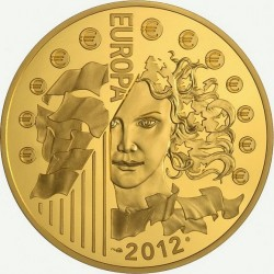 Франция, 2012 (20 лет Еврокорпусу). 1000 евро