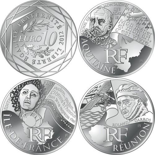 REGIONS DE FRANCE 2012 coins