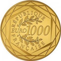 France 2011. 1000 euro Hercule