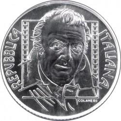 Италия, 5 евро (85 лет со дня рождения Федерико Феллини)