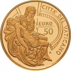 50 euro 2008. Pietà Michelangelo vaticana