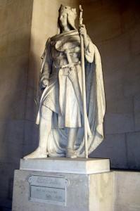 Памятник Филиппу II в Версальском дворце