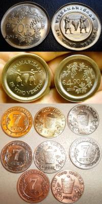 Монетовидные изделия Виноградного острова