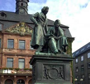 Bruder Grimm monument