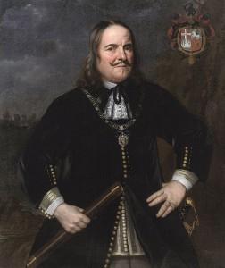 Портрет Михаила де Рюйтера (нид. Michiel Adriaenszoon de Ruyter) (Хендрик Беркман, 1668)