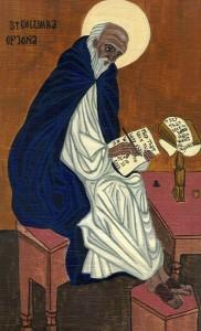 Монах Святой Колумба за работой