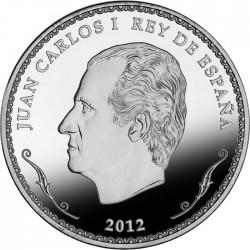 Spain 2012. 10 euro. Biblioteca Nacional de Espana