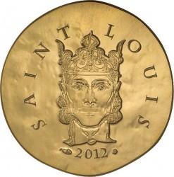 France 2012. 50 euro. Louis IX, Saint Louis