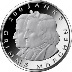 Germany 2012. 10 euro. 200 Jahre Kinder- und Hausmärchen der Brüder Grimm