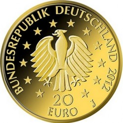 Germany 2012. 20 euro fichte