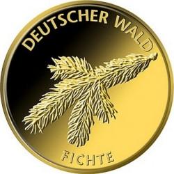 Germany 2012. 20 euro fichte