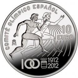 Испания, 10 евро (100 лет Национальному олимпийскому комитету Испании)
