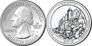 ACADIA NATIONAL PARK Quarters
