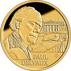 Belgium 2012. 50 euro. Paul Delvaux
