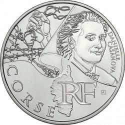 France 2012. 10 euro. Corse. Danielle Casanova