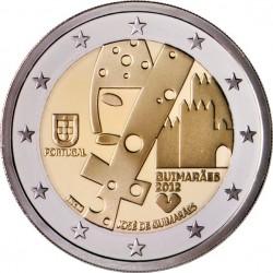 Portugal 2012. 2 euro. Guimarães, European Capital of Culture 2012