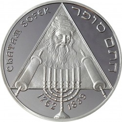 10 euro. 250th anniversary of the birth Chatam Sofer