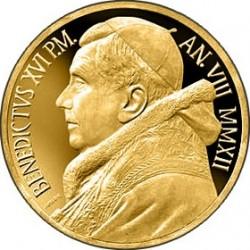 Vatican 2012. 100 euro. Madonna di Foligno