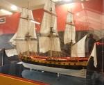Модель фрегата «Гермион» (L'Hermione)