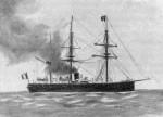 Броненосец «Глуар» (La Gloire), фото 1859 г.