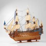 Модель корабля «Солей Рояль» (Le Soleil Royal) 1669 года