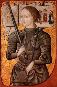 Жанна д'Арк (миниатюра 2-й пол. XV в.)