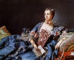 Мортрет мадам де Помпадур (Франсуа Буше, ок.1750, Национальная галерея Шотландии)