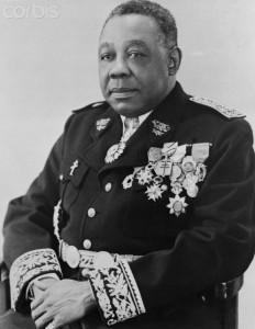 Portrait of Governor General Felix Eboue in Military Uniform