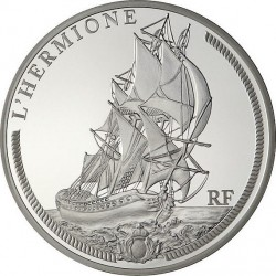 France 2012. 10 euro. L'Hermione