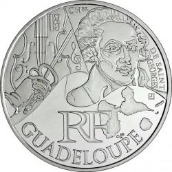 France 2012. 10 euro. Guadeloupe. Joseph Boulogne, chevalier de Saint-George